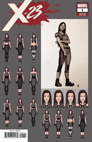 X-23 #1 (Choi Design Cover)