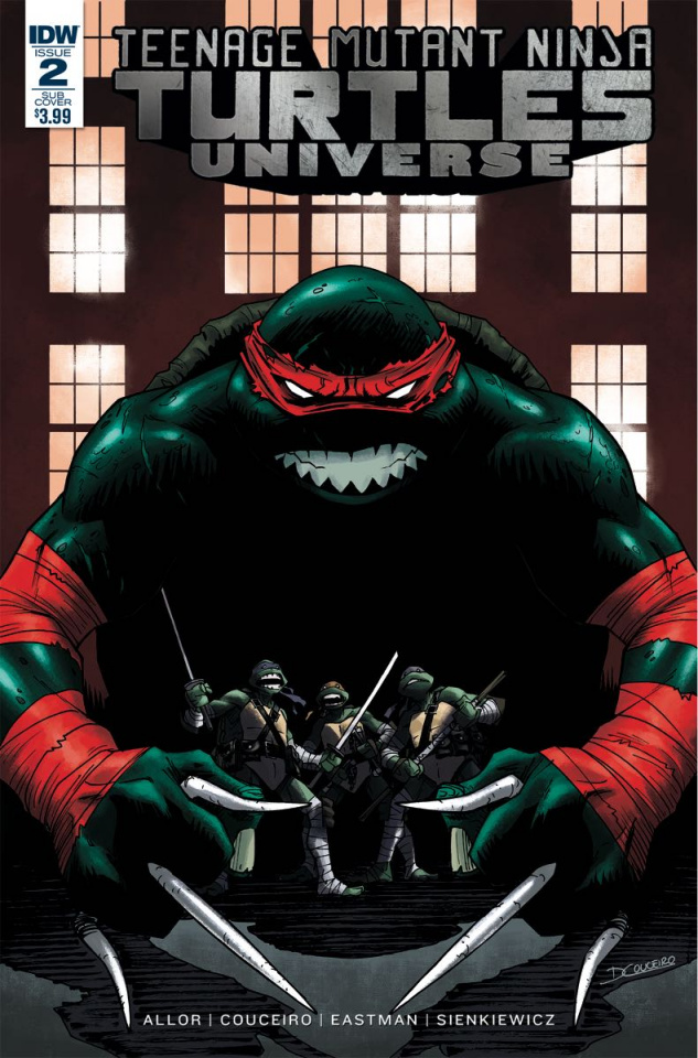 Teenage Mutant Ninja Turtles Universe #2 (Subscription Cover)