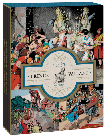 Prince Valiant Vols 7-9: 1949-1954