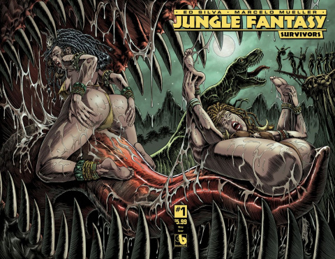 Jungle Fantasy: Survivors #1 (Wrap Cover)