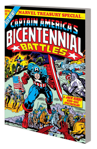 Captain America: Bicentennial Battles (New Treasury Edition)