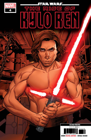 Star Wars: The Rise of Kylo Ren #4 (2nd Printing)
