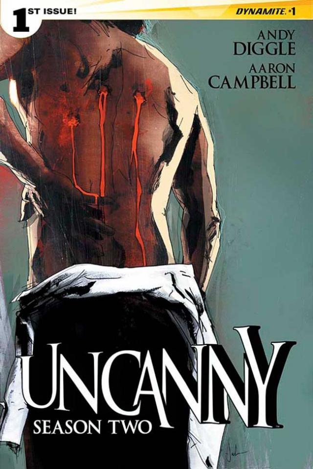 Uncanny, Season Two #2 (Jock Cover)