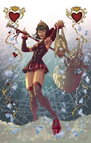 Grimm Fairy Tales: Wonderland - Clash of Queens #4 (Laiso Cover)