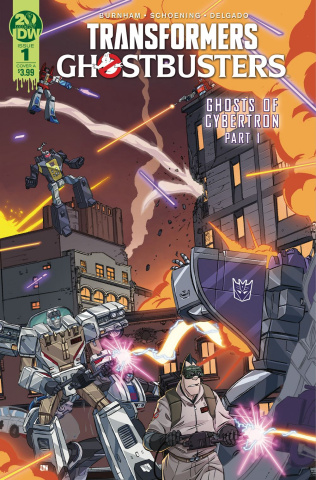 The Transformers / Ghostbusters #1 (Schoening Cover)