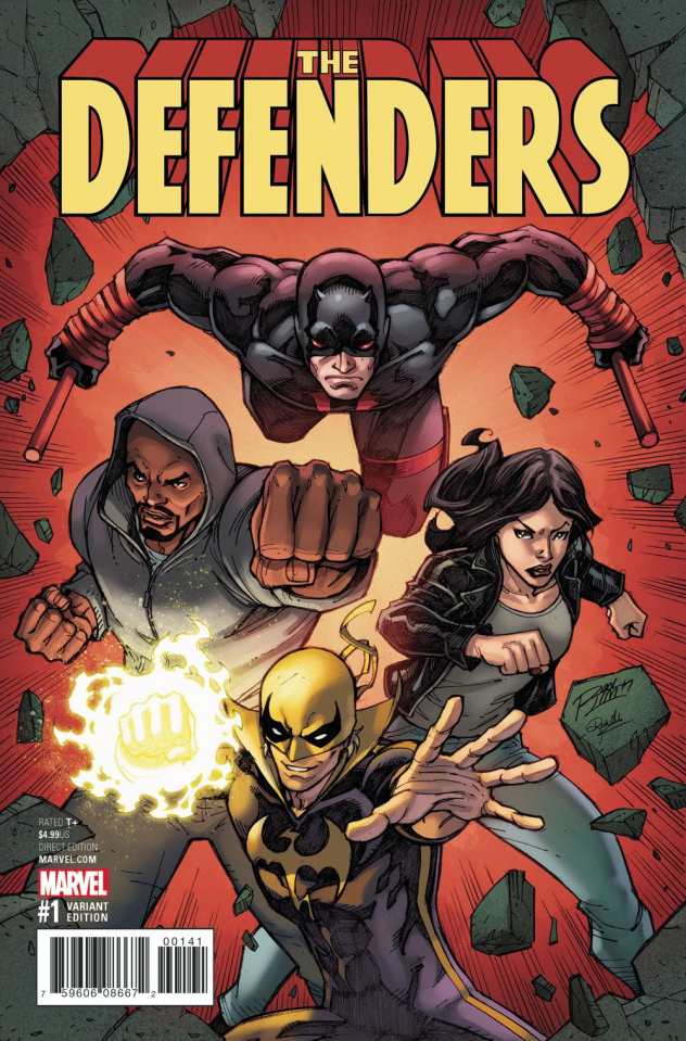 The Defenders #1 (Lim Cover)