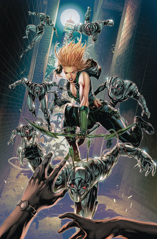 Robyn Hood: Vigilante #4 (White Cover)