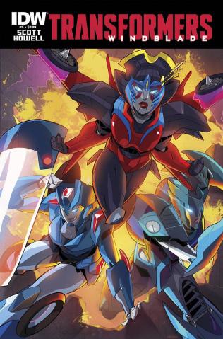 The Transformers: Windblade #5