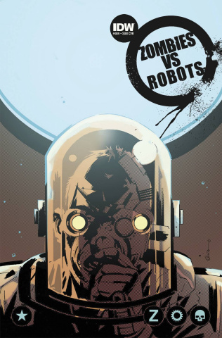 Zombies vs. Robots #9 (Subscription Cover)