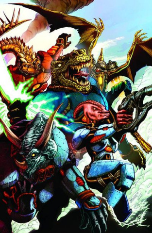 Jurassic Strike Force 5 #1 (Toledo Cover)
