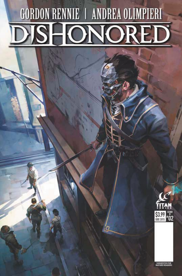 Dishonored #3 (Frost Cover)
