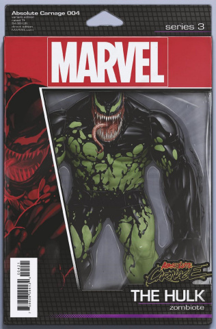 Absolute Carnage #4 (Christopher Action Figure Cover)