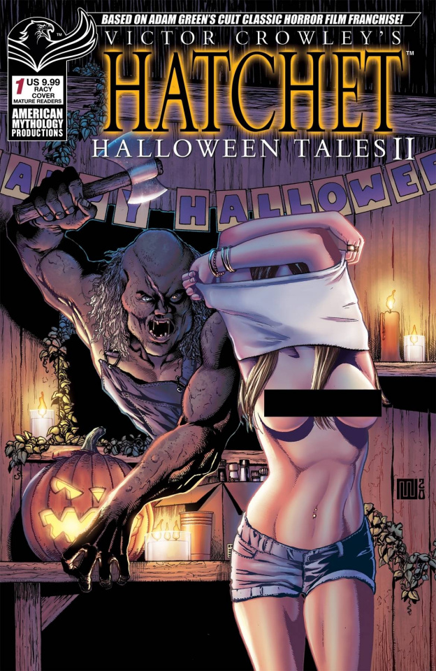 Hatchet: Halloween Tales II #1 (Racy Wolfer Cover)