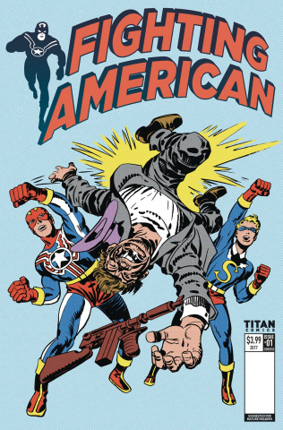 Fighting American #1 (Kirby Cover)