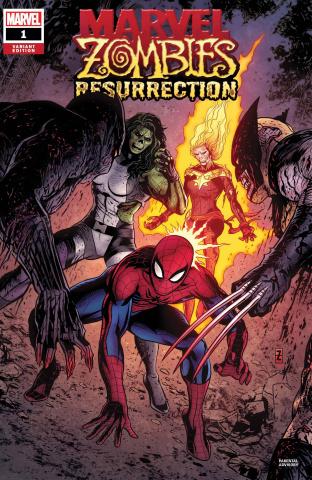 Marvel Zombies: Resurrection #1 (Zircher Cover)
