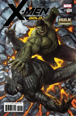 X-Men: Gold #21 (Hulk Cover)
