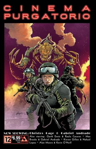 Cinema Purgatorio #12 (Vast Cover)
