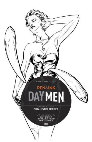 Pen & Ink: Day Men #2