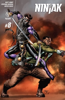 Ninjak #8 (Suayan Cover)