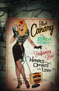 Green Arrow #43 (Bombshells Cover)