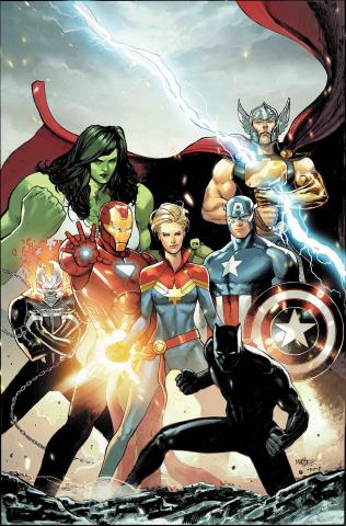 Avengers #10 (Marquez Cover)