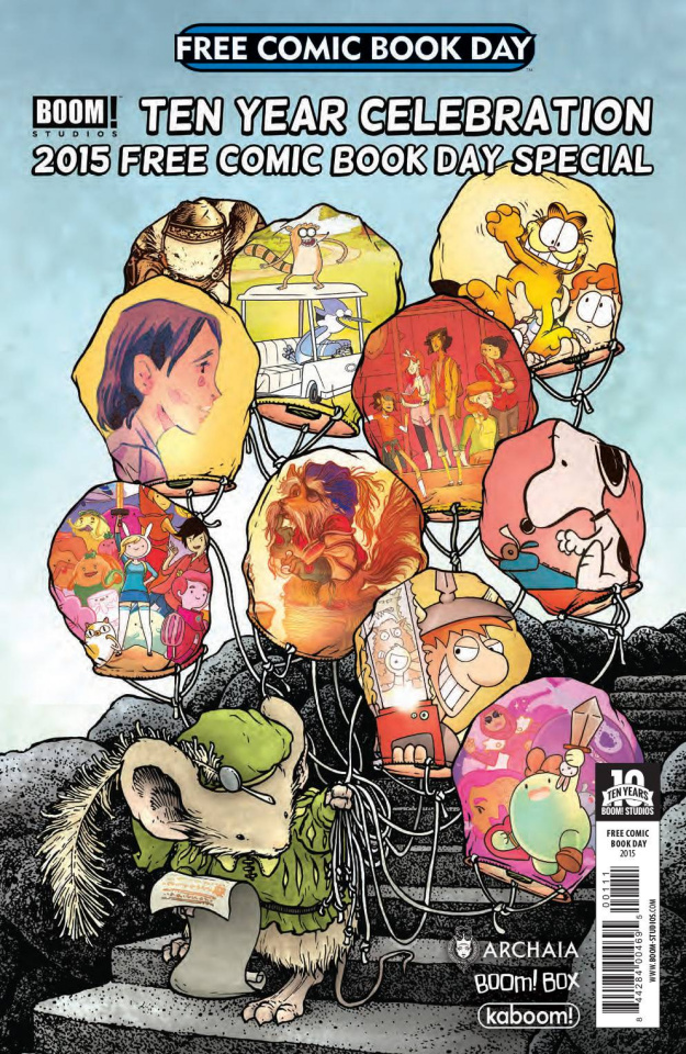 Boom Studios 10th Anniversary Free Comic Book Day Special
