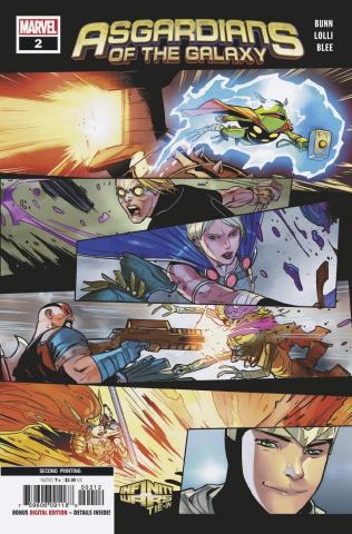 Asgardians of the Galaxy #2 (Lolli 2nd Printing)