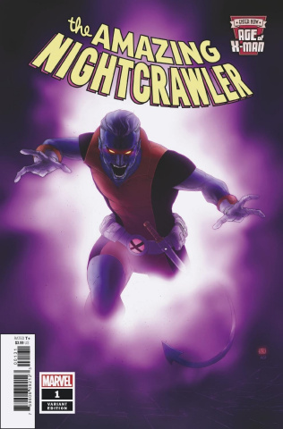 Age of X-Man: The Amazing Nightcrawler #1 (Pham Cover)