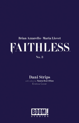 Faithless #3 (Erotica Strips Cover)