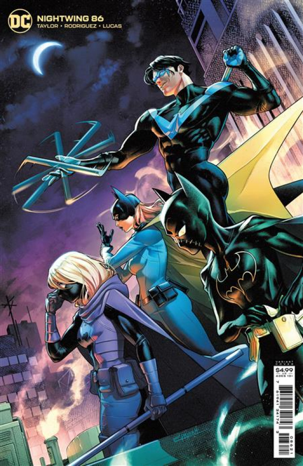 Nightwing #86 (Jamal Campbell Card Stock Cover)
