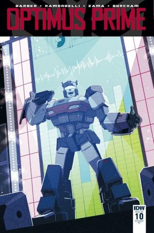 Optimus Prime #10 (10 Copy Cover)