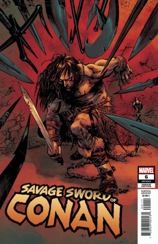 The Savage Sword of Conan #6 (Fiumara Cover)