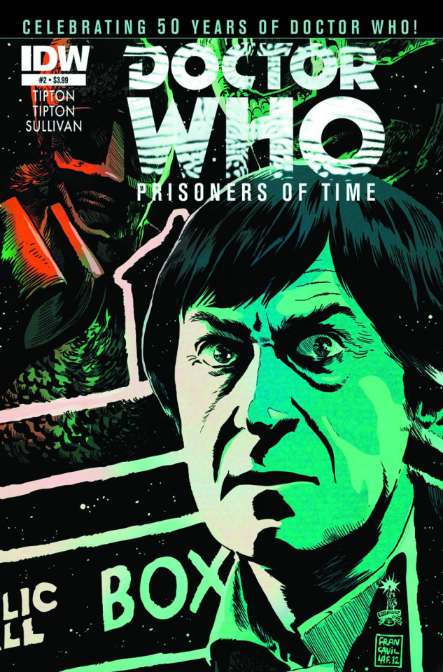 Doctor Who: Prisoners of Time #2 (2nd Printing)