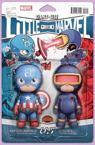 Giant-Size Little Marvel: AvX #1 (Action Figure Cover)