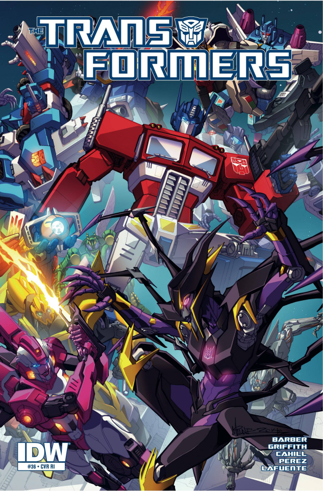 The Transformers: More Than Meets the Eye #36 (10 Copy Cover)