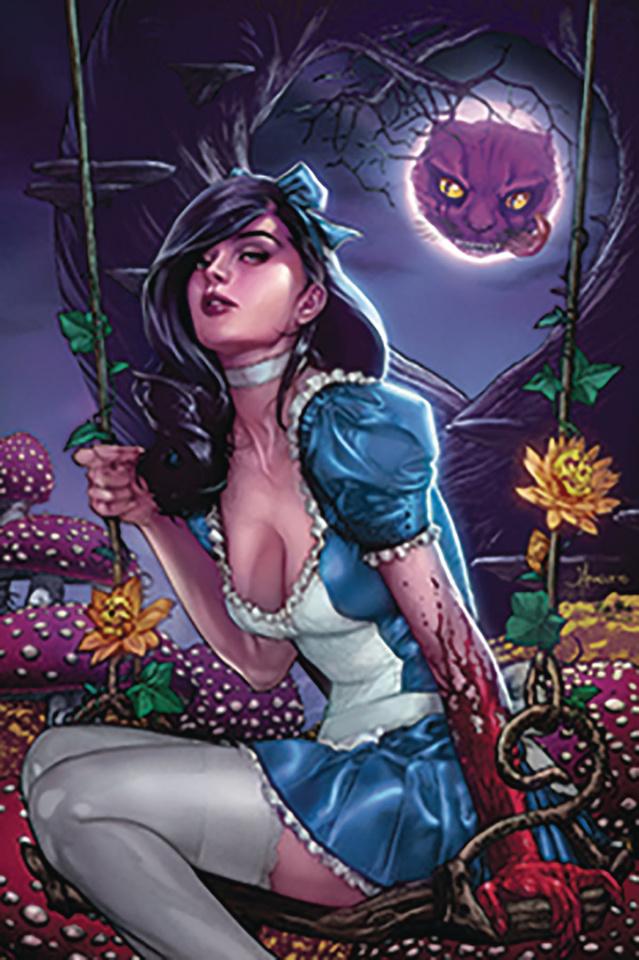 Revenge of Wonderland #2 (Anacleto Cover)