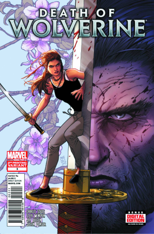 Death of Wolverine #3 (2nd Printing)