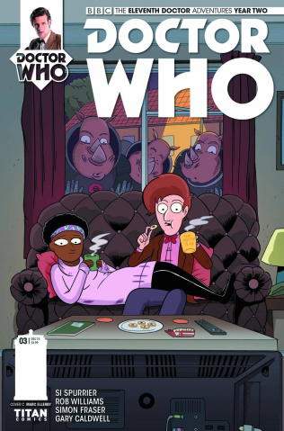 Doctor Who: New Adventures with the Eleventh Doctor, Year Two #3 (Ellerby Cover)