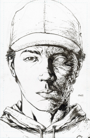The Walking Dead Deluxe #2 (Finch & McCaig 25 Copy Raw Cover)