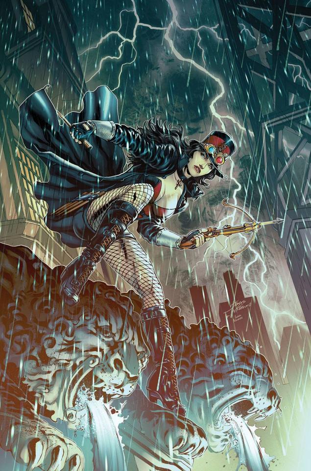 Van Helsing vs. The Invisible Woman (Vitorino Cover)