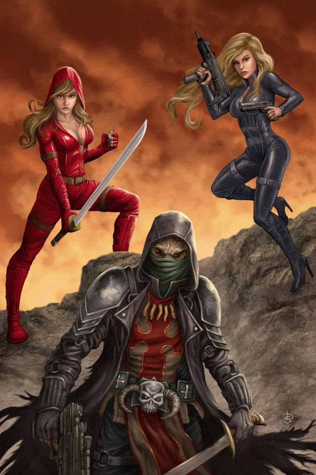 Grimm Fairy Tales: Red Agent #5 (Sirois Cover)