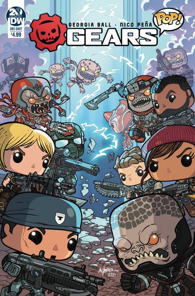 Gears of War: Pop! #1 (Pena Cover)