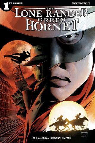 The Lone Ranger / The Green Hornet #1 (Cassaday Cover)