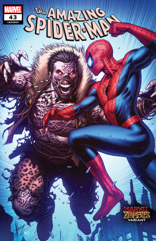 The Amazing Spider-Man #43 (Keown Marvel Zombies Cover)