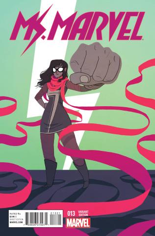 Ms. Marvel #13 (Women of Marvel Stevenson Cover)