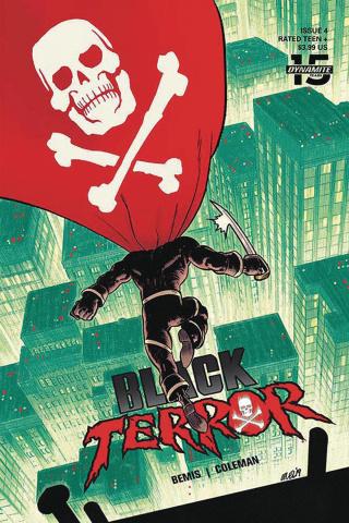 Black Terror #4 (Level Cover)