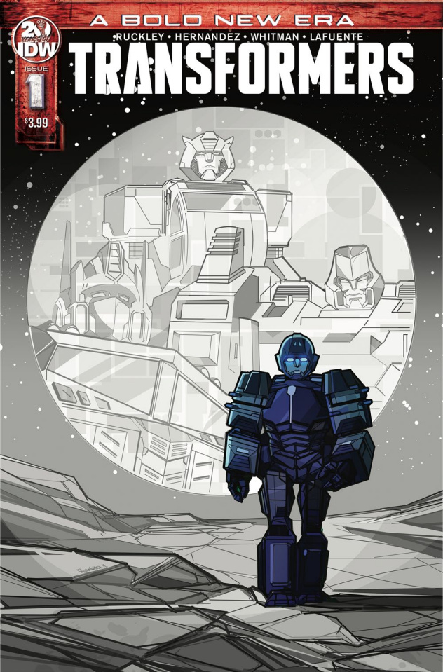 The Transformers #1 (2nd Printing)