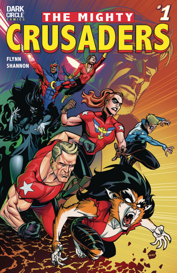 The Mighty Crusaders #1 (Shannon Cover)