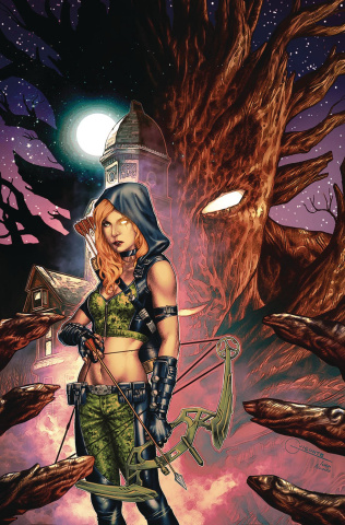 Robyn Hood: Outlaw #5 (Vigonte Cover)