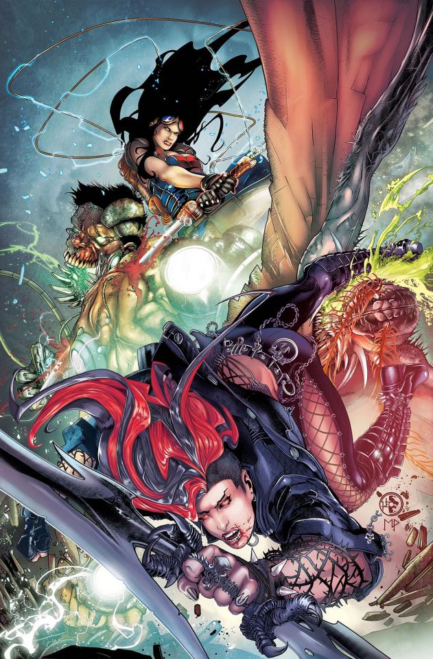 Grimm Fairy Tales: Van Helsing vs. Frankenstein #5 (Colapietro Cover)